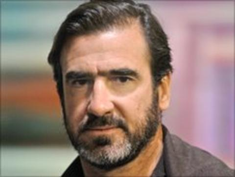 Eric Cantona on BBC Breakfast