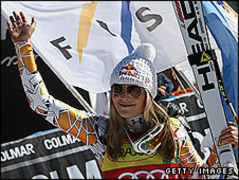Vonn has won eight races this season, 41 World Cups overall