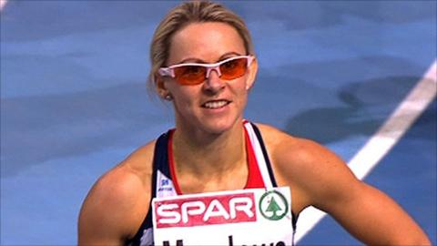 Great Britain's Jenny Meadows