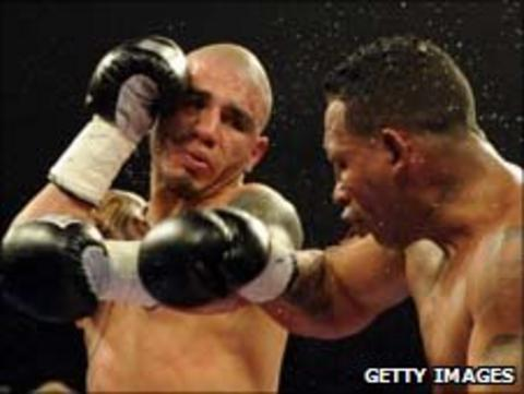 Miguel Cotto stopped Nicaraguan challenger Ricardo Mayorga