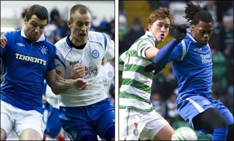 Rangers and Celtic take on St Johnstone