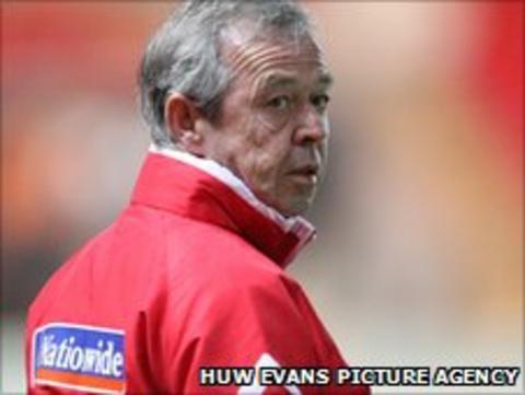 Wales boss Brian Flynn