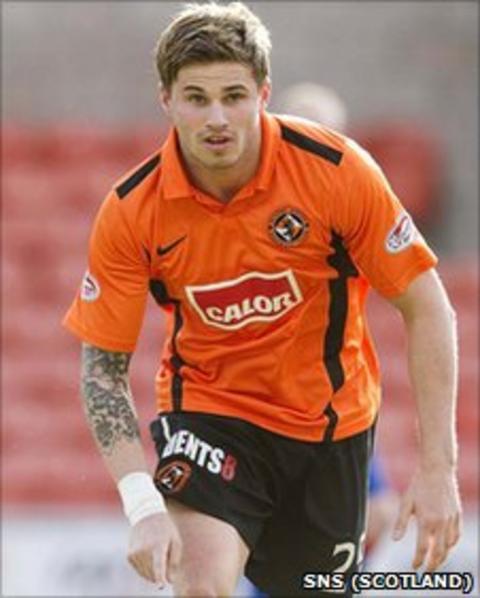 Dundee United striker David Goodwillie