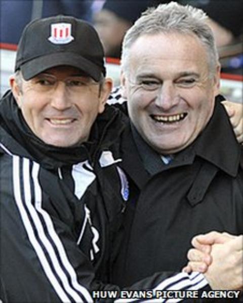 Tony Pulis and Dave Jones