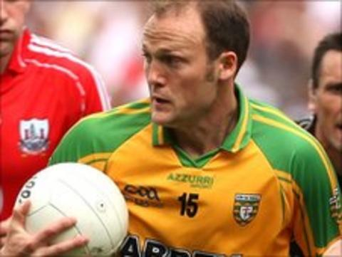 Donegal forward Colm McFadden