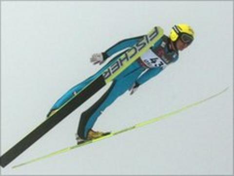 Austrian ski jumper Daniela Iraschko