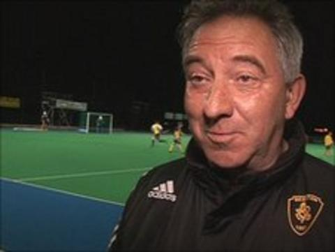 Beeston Hockey manager Graham Griffiths