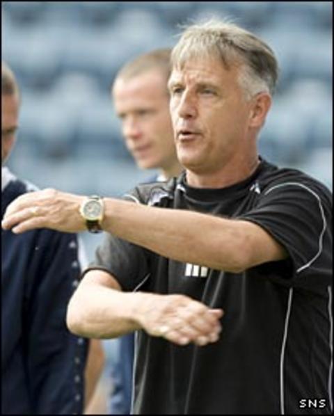 Montrose manager Ray Farningham