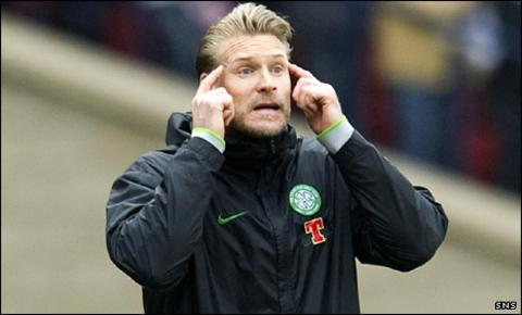 Celtic assistnat boss Johan Mjallby