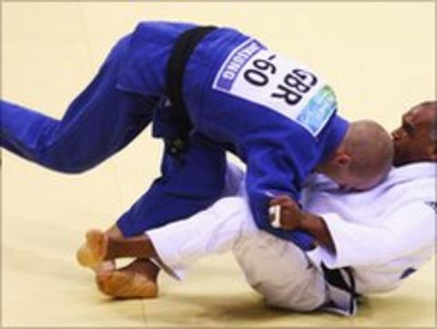 Paralympic judo player Ben Quilter