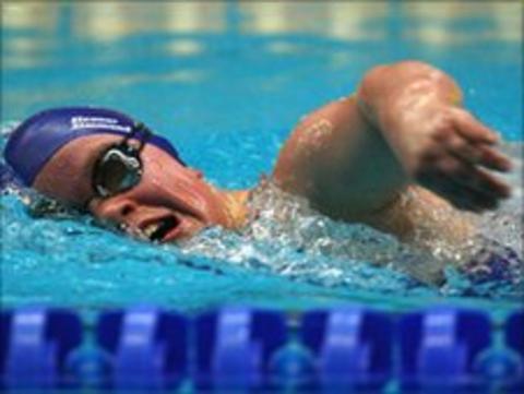 Paralympic champion Ellie Simmonds