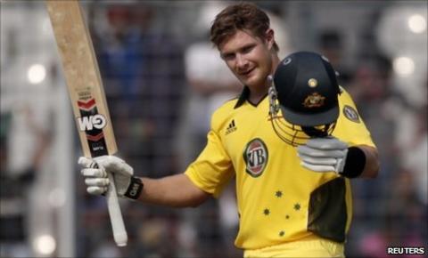 Australia batsman Shane Watson