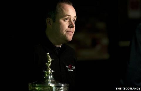 Snooker World Number One John Higgins