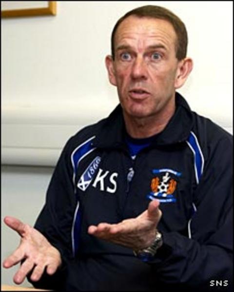 Kilmarnock caretaker Kenny Shiels