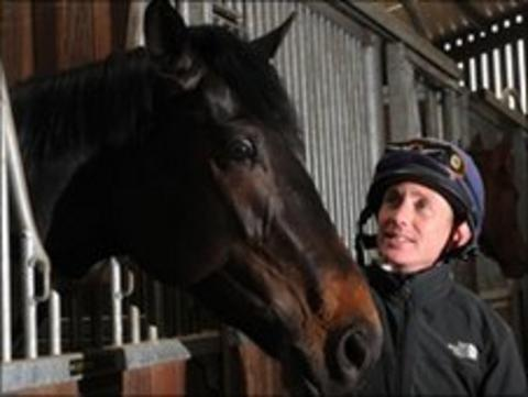 Wootton Bassett with jockey Paul Hanagan