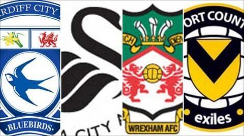 Cardiff, Swansea, Wrexham, Newport
