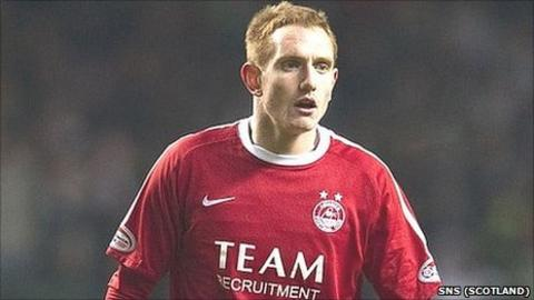 Aberdeen midfielder Rob Milsom