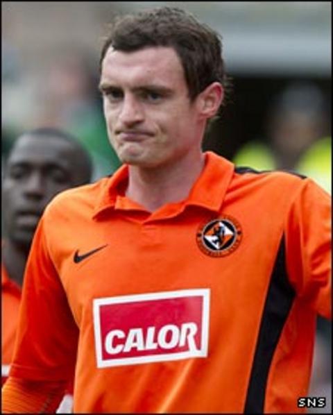 Dundee United midfielder David Robertson