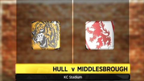 Hull City 2-4 Middlesbrough