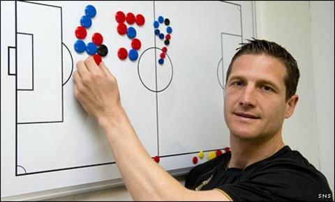 St Mirren midfielder Hugh Murray
