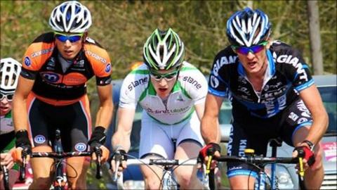 Tour of Ulster action