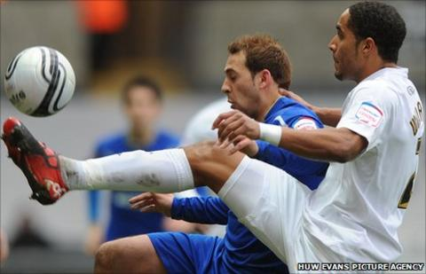 Cardiff City and Swansea City are locked in a battle for third place