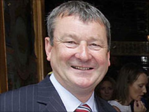 Hugh Wade has stood down as chairman of Coleraine