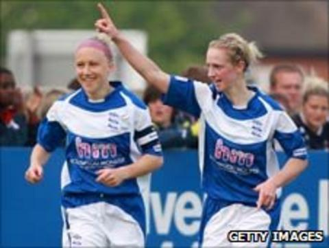 Kerys Harrop was on the scoresheet for Birmingham