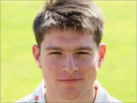 James Goodman made 59 on his first-class debut against Pakistan last summer