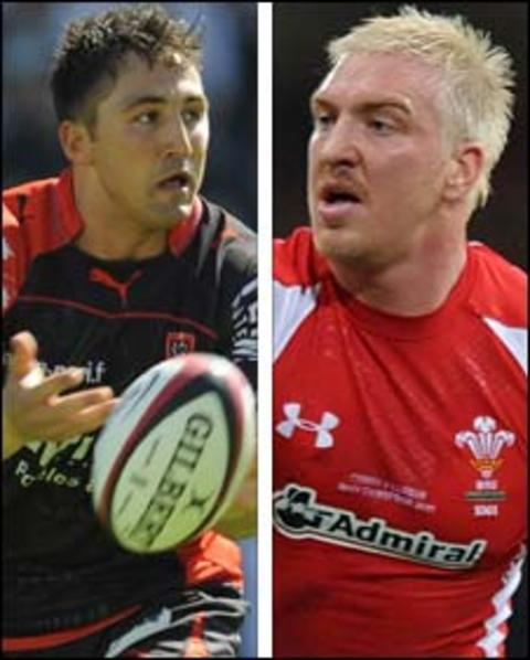 Gavin Henson and Andy Powell