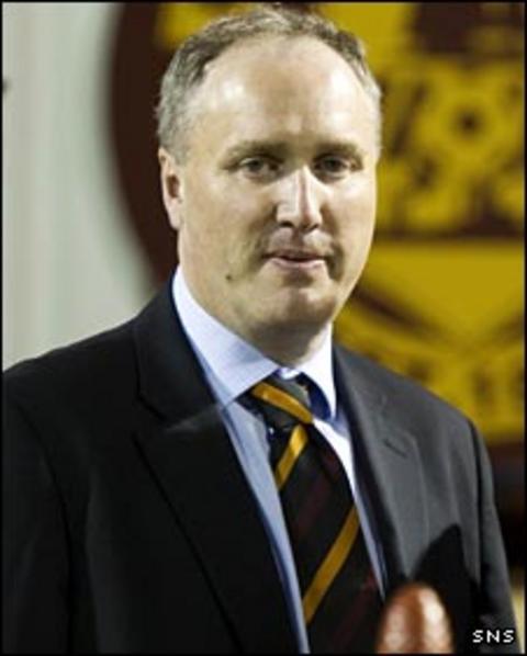 Motherwell vice-chairman Derek Weir