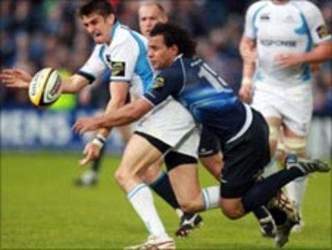 Leinster v Glasgow action