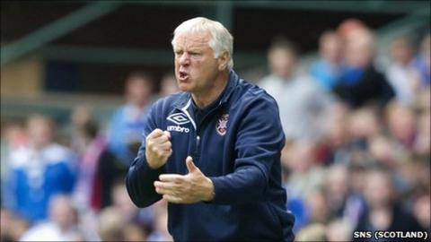 Hearts boss Jim Jefferies