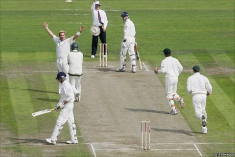 Shane Warne's 600th Test wicket