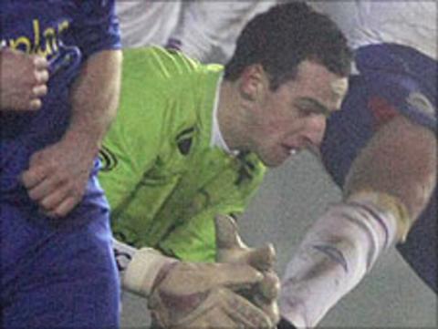 Goalkeeper Niall Morgan