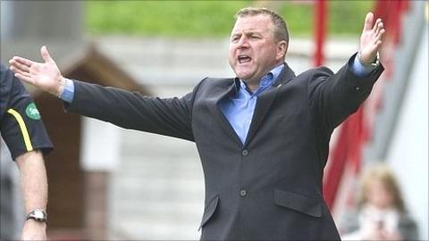 Hamilton manager Billy Reid