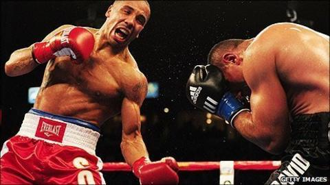 Andre Ward and Arthur Abraham