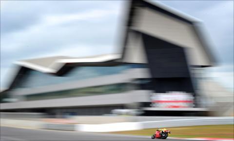 Valentino Rossi at Silverstone