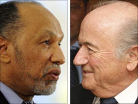 Bin Hammam and Blatter