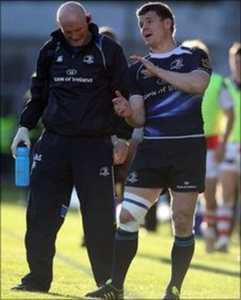 Brian O'Driscoll (right)