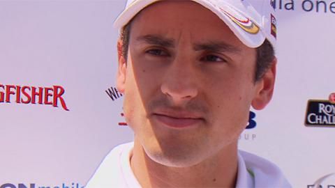 Force India driver Adrian Sutil