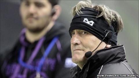 Ospreys director of rugby Scott Johnson