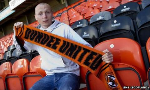 Willo Flood is back at Tannadice