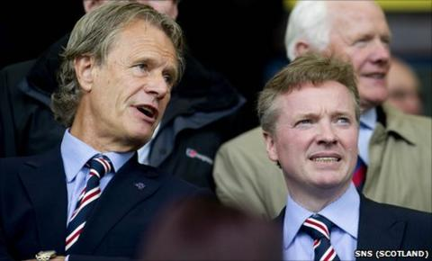 Alastair Johnston and Craig Whyte