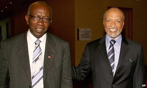 Jack Warner and Mohamed Bin Hammam