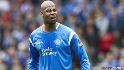 Former St Johnstone defender Michael Duberry
