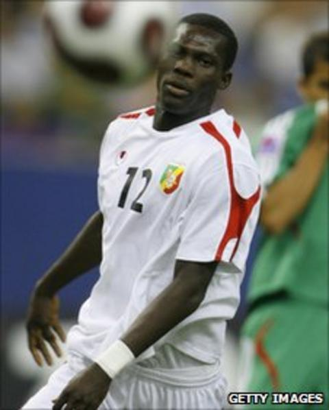 Congo striker Fabrice Nguessi