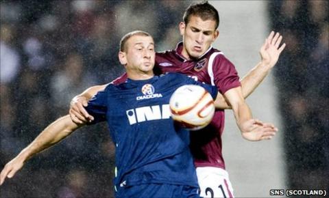 Hearts v Dinamo Zagreb