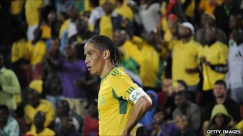 South Africa captain Steven Pienaar