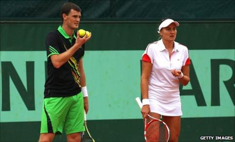Jamie Murray and Nadia Petrova